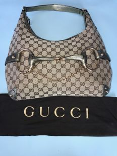 Gucci – Horsebit Hobo bag