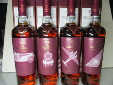 4 bottles - The Macallan Classic Travel Range