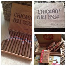 Box of cigars Chicago N 1 and other superb unopened pack!