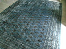 Beautiful Hand Knotted Cashmere Pakistan Bukhara 252x344 Cm !!