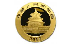 8 Gram golden Panda coin 2017