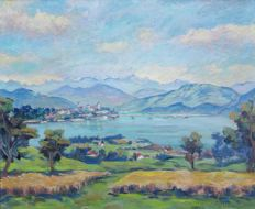 Carl Lottenbach (1899–1985) - Area around Rapperswil
