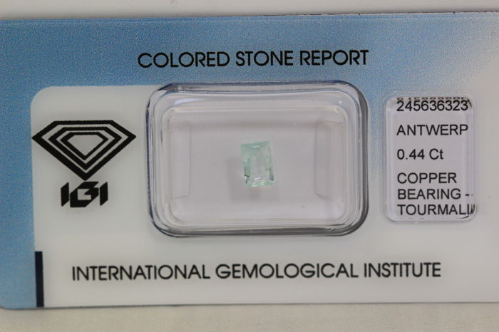 Paraiba Tourmaline – 0.44 ct – No Reserve Price