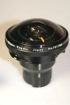 Nikkor Fish-Eye 1:5.6 f=7.5mm + Finder