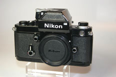 Nikon F2 Body, black, DP-1, with original packaging