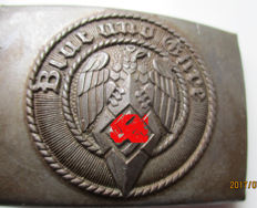 Buckle of the HJ youth organization WW 2