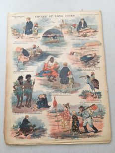 Catchpenny prints; lot with 47 French catchpenny prints - 1886/1900