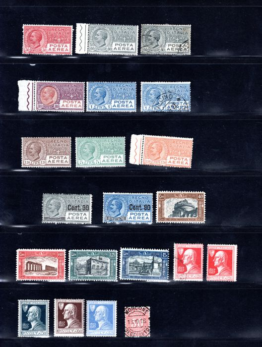 Italy Repubblica 1913/1932 - Set/series completed