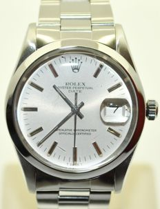 Rolex Oyster Perpetual Date - Unisex - 1981 ref 15000