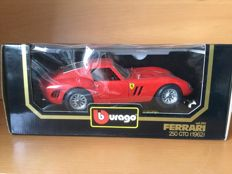 Bburago - Scale 1/18 - 6 x Ferrari, including 2 Special Models