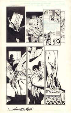 Pat Olliffe - Original Comic Art - Marvel Comics - Spider-Girl #33 - Page 22 - Signed