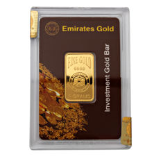 Emirates Gold, Investment Gold Bar, Secure box - 5 g