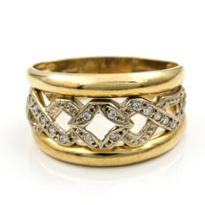 18 kt yellow gold – Ring – Inner diameter: 20.80 mm