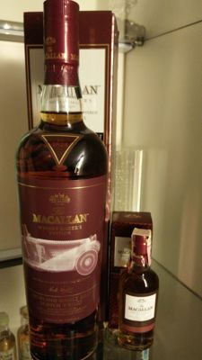 Macallan Whisky Maker's Edition (The Roadster) X-Ray 2 Limited Edition 70cl and a Whisky Maker's Miniature