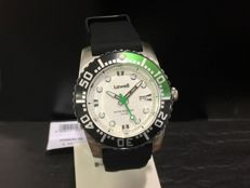 LOWEL, Made in Modena, Italy. Steel wristwatch. Water resistant to 10 ATM. NEW