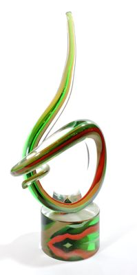 Murano - 'Nodo d'amore' glass sculpture