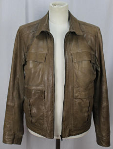 Hugo Boss - Leather jacket