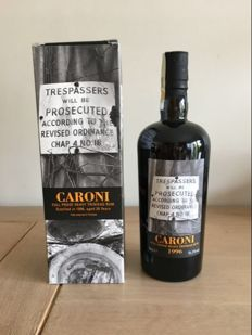 Caroni 1996 full proof heavy Trinidad Rum