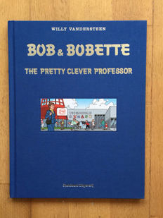 Bob and Bobette - The pretty clever professor - Luxe hc - 1e druk - (2006)