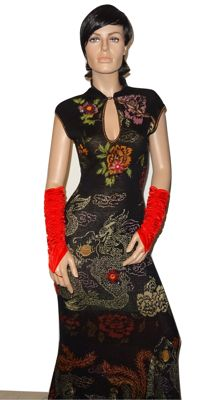 Cavalli Class - amazingly beautiful, very exclusive, finely knitted dress with beautiful applications, soooooooooo Cavalli