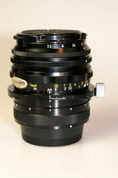 PC-Nikkor 1:2.8 f=35mm + CL34A