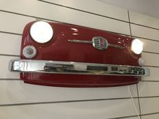 Fiat 500 F Frontal Part - With Working Lights remote-controlled - 118 x 47 x 22 cm