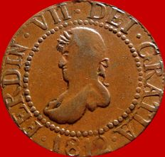 Spain – Ferdinand VII (1813 – 1833) – 12 copper dinners – 1812 – Majorca (Balearic Islands)