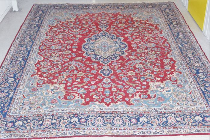 Top-quality Persian rug, Kerman, approx. 400 x 300 cm
