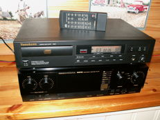 The better stuff: AMPLIFIER MARANTZ PM45 and CD player YAMAKAWA CD420 with a/b