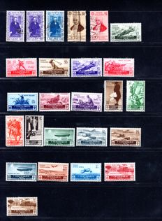 Italy Repubblica 1934-1942 - Set/series completed