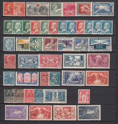 France 1914/1932 – Lots of stamps