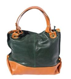 Handbag with double handles – Soft calfskin leather