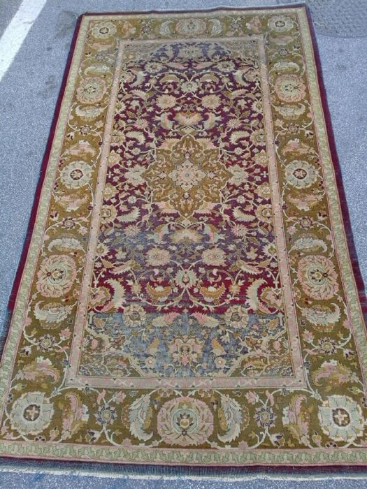 Amritsar carpet, India, 220 x 125 cm – Era: circa 1850-1860.