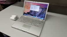 Apple Macbook PRO (A1260) - 15''inch with brandnew Battery and new Charger! 2.5Ghz INTEL Dual Core, 3GB Ram, 200GB HD