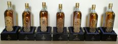 7 bottles - Johnnie Walker Blue Label Private House Zodiacs set of 7 x 1L