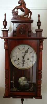 Horse regulator clock – Commodoor – 31 days – 2nd half of the 20th century
