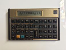 Hewlett Packard 15 scientific calculator special gold edition