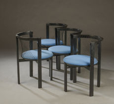 Niels Jørgen Haugesen for Tranekær Furniture - set of 4 chairs, String model