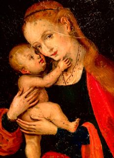 Follower Ambrosius Benson - Madonna met kind (ca. 1520)