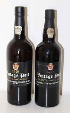 1970 & 1977 Vintage Port, Messias, Quinta do Cachao - 2 bottles total