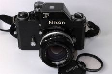 "Nikon F Photomic ""Apollo"" prepared for the Motor with Nikkor S.C Auto 50mm F1.4 lens"