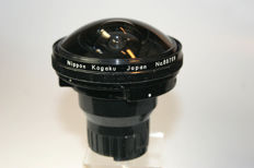 Nikkor Fish-Eye 1:8 f=8mm + Finder