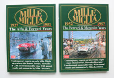 Brooklands Books: Mille Miglia. 2 parts with copies from 'in period' magazines