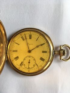 Longines men's pocket watch, numbered 2574140, circa 1911