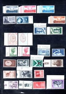 Italy Republica 1944 till 1960 - Collection lot of set/series cover -