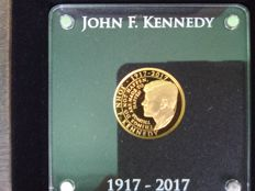 Niue – 5 Dollars 2017 'John F. Kennedy' – 1/10 oz Gold