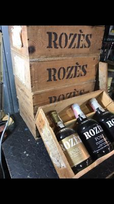 NV Port Wine Rozes - 5x3 bottles - 15 bottles total