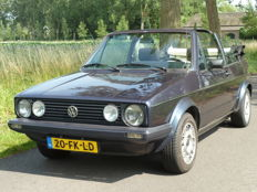 Volkswagen - Golf descapotable tipo 1-1987
