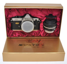 Nikon FM2n Kit Millenium 2000 Edition with 50/1.4 Nikkor and box