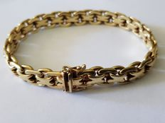 14kt Yellow gold bracelet - Length approx. 20cm